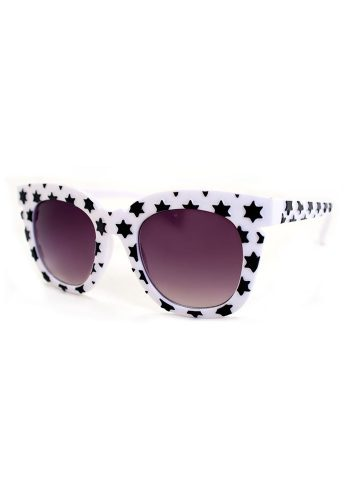 AJ MORGAN STARS SUNGLASSES - WHITE