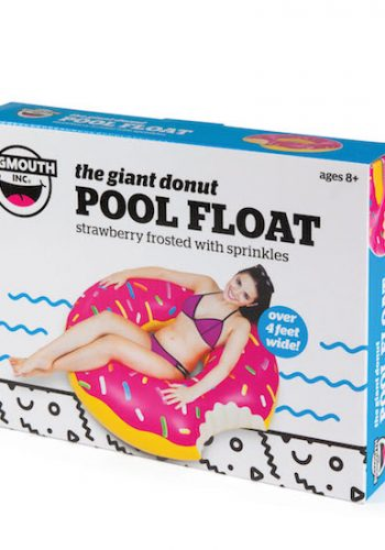 BIG MOUTH INC GIANT FROSTED DONUT POOL FLOAT