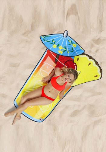 BIG MOUTH INC TROPICAL DRINK BEACH BLANKET