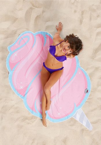 BIG MOUTH INC COTTON CANDY BEACH BLANKET