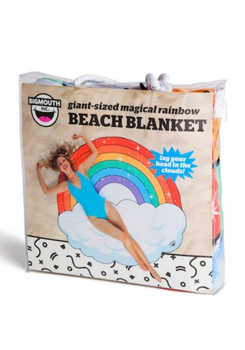 BIG MOUTH INC GIGANTIC RAINBOW BEACH TOWEL