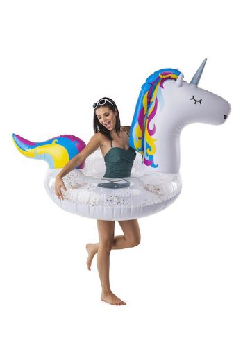 BIG MOUTH INC GIANT SPARKLY UNICORN POOL FLOAT