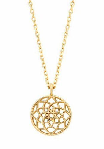 ESTELLA BARTLETT DREAMCATCHER NECKLACE - GOLD PLATED