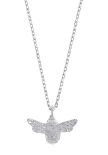 ESTELLA BARTLETT BEE NECKLACE - SILVER PLATED