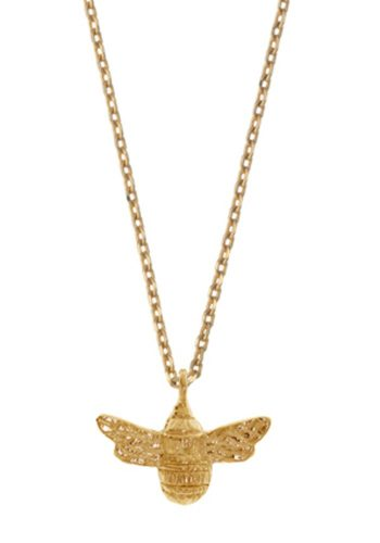 ESTELLA BARTLETT BEE NECKLACE - GOLD PLATED