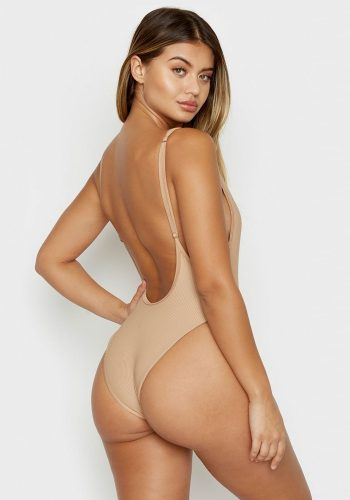FRANKIES BIKINIS ADELE ONE PIECE - NUDE