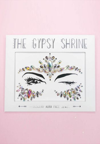 THE GYPSY SHRINE IRIDESCENT AURA ALL IN ONE FESTIVAL FACE JEWEL