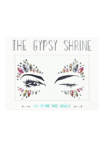 THE GYPSY SHRINE IRIDESCENT CANDY KISS ALL IN ONE FESTIVAL FACE JEWEL