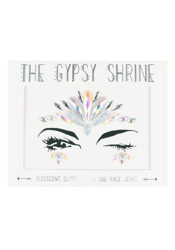 THE GYPSY SHRINE IRIDESCENT GLITZ FESTIVAL FACE JEWELS