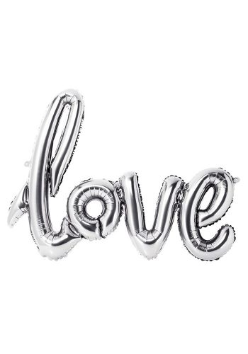 TALKING TABLES - LOVE BALLOON - SILVER