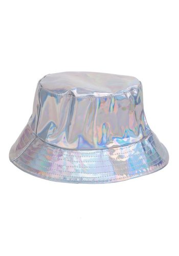BUCKET HAT - SILVER HOLOGRAPHIC