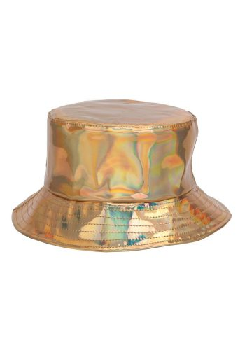 BUCKET HAT - GOLD HOLOGRAPHIC