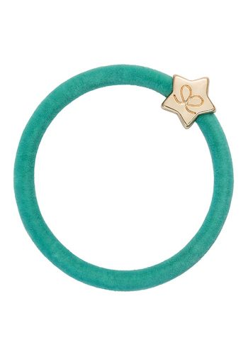 BY ELOISE VELVET GOLD STAR AQUA
