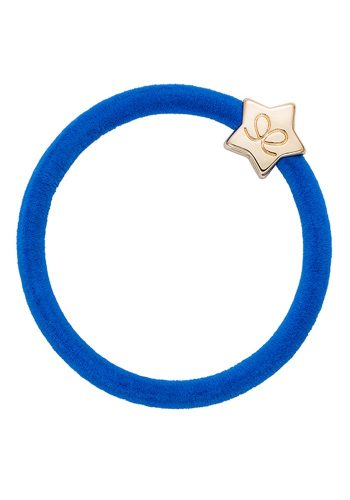 BYELOISE VELVET GOLD STAR - ROYAL BLUE