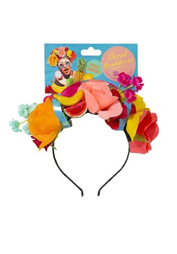 TALKING TABLES - CUBAN FIESTA FLORAL HEADBAND