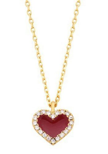 ESTELLA BARTLETT QUEEN OF HEARTS NECKLACE - GOLD PLATED