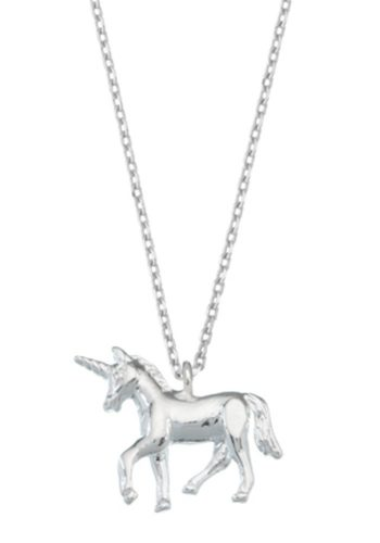 ESTELLA BARTLETT UNICORN NECKLACE - SILVER PLATED