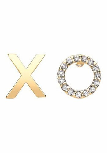 ESTELLA BARTLETT XO EARRINGS - GOLD PLATED