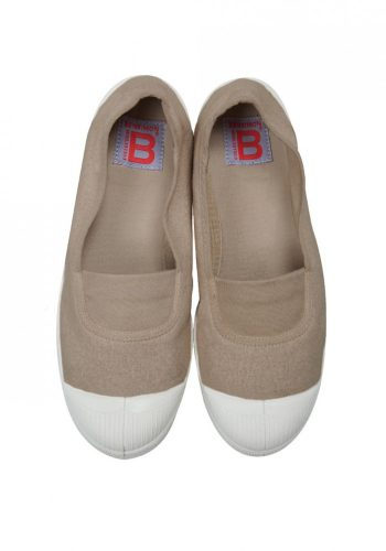 BENSIMON TENNIS A ELASTIQUES SHOES - EGGSHELL