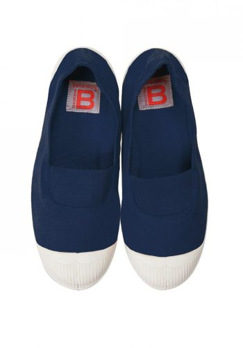 BENSIMON TENNIS A ELASTIQUE SHOES - MARINE