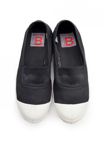BENSIMON TENNIS A ELASTIQUES SHOES - CARBON