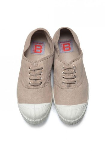 BENSIMON TENNIS A LACETS SHOES - EGGSHELL