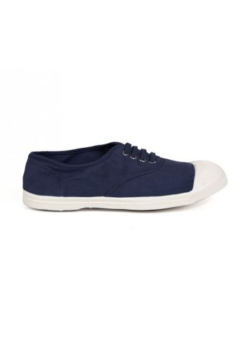 BENSIMON TENNIS A LACETS SHOES - MARINE