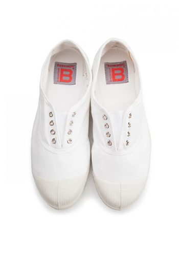 BENSIMON TENNIS ELLY SHOES - WHITE
