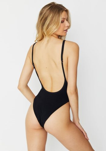 FRANKIES BIKINIS ADELE ONE PIECE - BLACK
