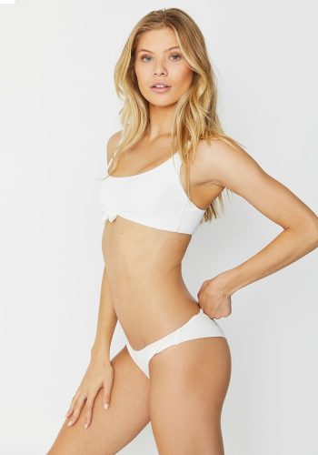 FRANKIES BIKINIS GREER TOP - WHITE