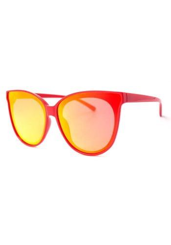 A J MORGAN GLAMMED SUNGLASSES - RED MIRROR