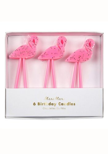 MERI MERI FLAMINGOS CANDLES