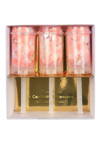 MERI MERI CONFETTI THROWERS - PINK