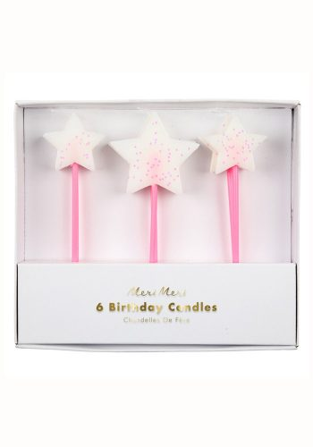 MERI MERI WHITE STAR CANDLES