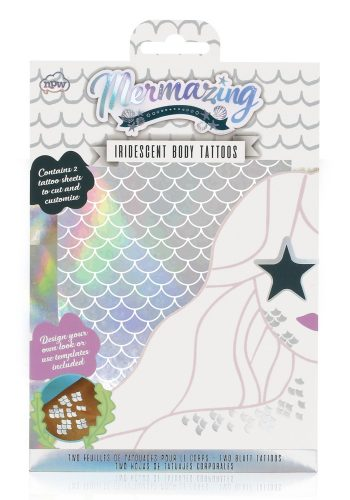 NPW - Mermaid Scale Metallic Tattoos