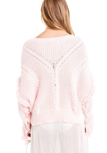 WILDFOX JOURNEY SWEATER - PINK FLUSH