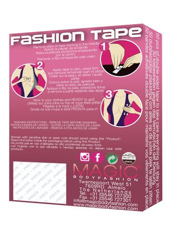 MAGIC BODY FASHION FASHION TAPE - CLEAR