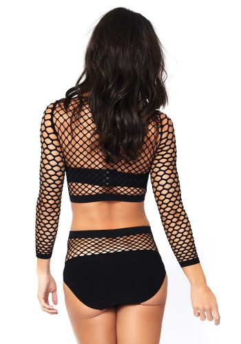 LEG AVENUE - 2PC INDUSTRIAL NET SET
