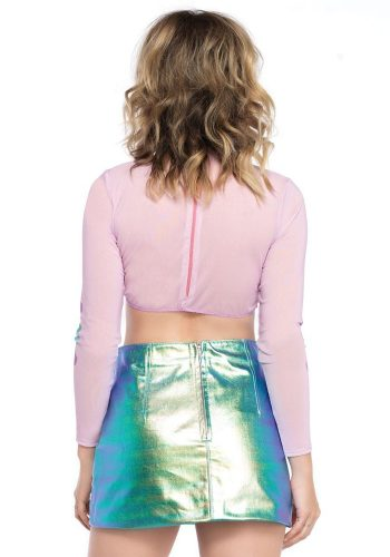 LEG AVENUE - MERMAID CROP TOP