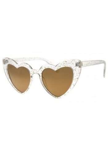AJ MORGAN WHOLEHEARTED SUNGLASSES - CRYSTAL GLITTER