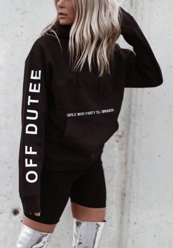 OFF DUTEE - PARTY TILL BRUNCH HOODIE
