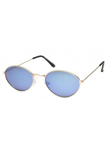 TINY SUNGLASSES - GOLD / BLUE