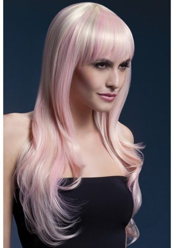 SIENNA WIG - TWO TONE BLONDE PINK