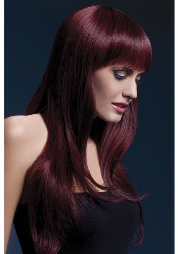 SIENNA WIG - TWO TONE BLACK RED