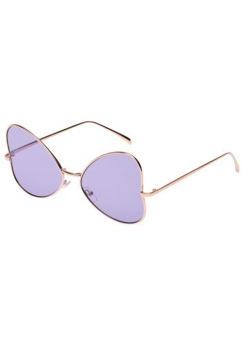 BUTTERFLY SUNGLASSES - PURPLE