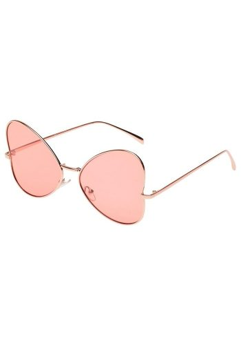 BUTTERFLY SUNGLASSES - ROSE