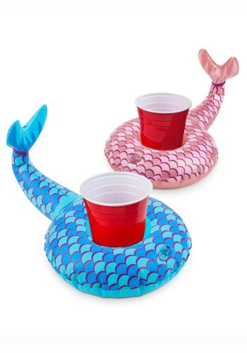 BIG MOUTH INC - MERMAID TAILS BEVERAGE BOAT 2PK