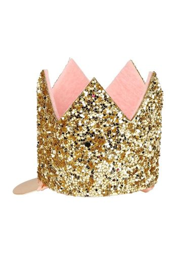 MERI MERI MINI GLITTER CROWN CLIP