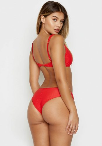 FRANKIES BIKINIS ALANA TOP - RED