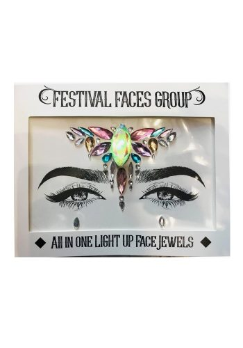 FESTIVAL FACES GROUP - FLASHING ALL IN ONE FACE GEM